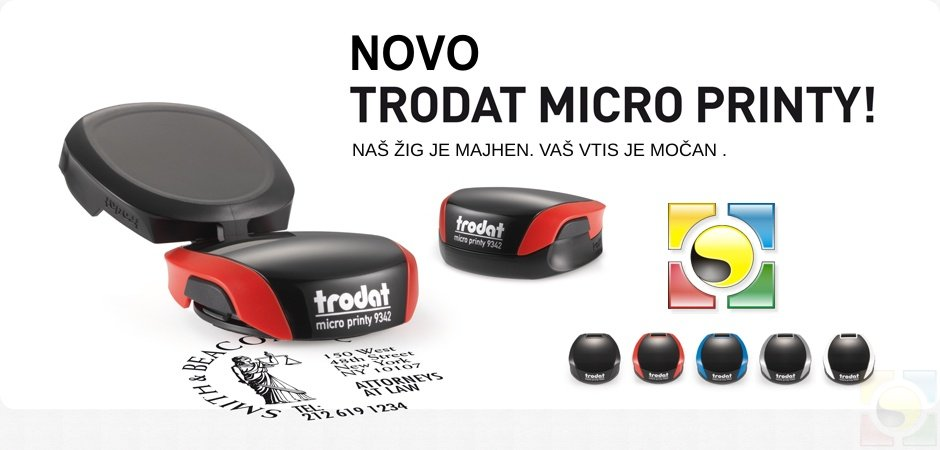 Žepna štampiljka Trodat Micro Printy