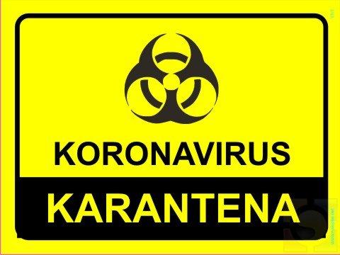 Koronavirus nalepke